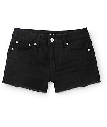 Empyre Tatum Black High Waisted Shorts