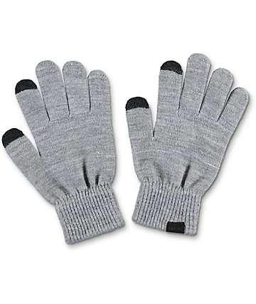 Empyre Techy guantes de punto en gris