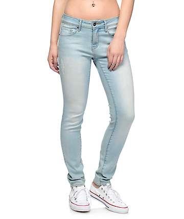 Empyre Tessa pantalones ceñidos en azul claro