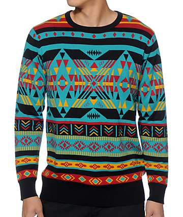 Empyre Theo Intarsia Sweater