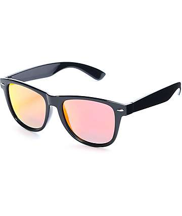 Empyre Tig Classic Black & Red Sunglasses
