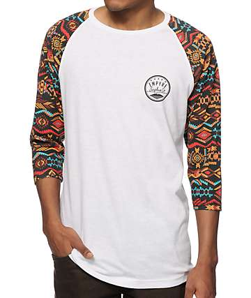 Empyre Totem Tribal Baseball T-Shirt