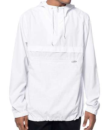 Empyre Transparent White Anorak Jacket