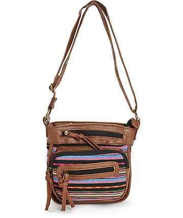 Empyre Tribal Stripe Crossbody Purse