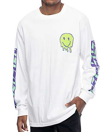 Empyre Unknown Mayhem White Long Sleeve T-Shirt