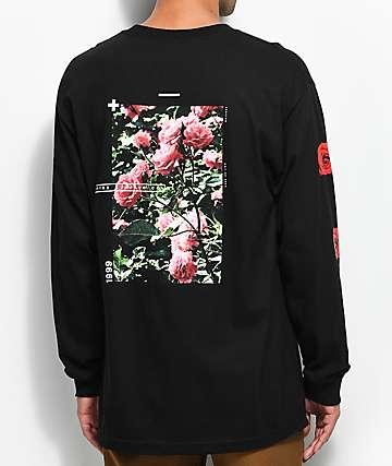 Empyre Vertigo Rose camiseta negra de manga larga