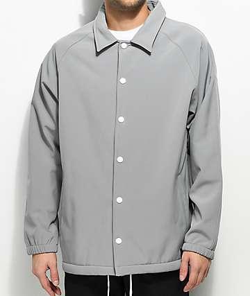 Empyre Walsh chaqueta entrenador de polar técnica en gris claro