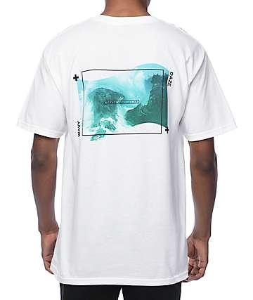 Empyre Wavy Daze camiseta blanca
