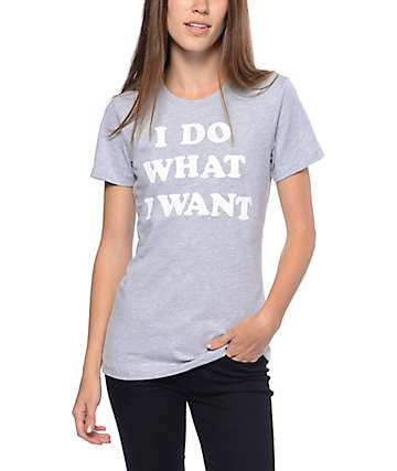 Empyre What I Want Grey T-Shirt