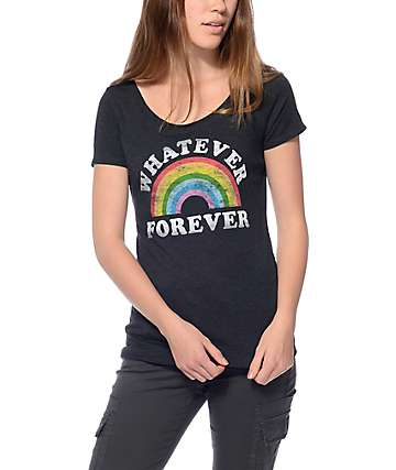 Empyre Whatever 4 Ever Scoop Black T-Shirt