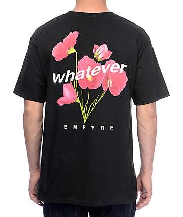Empyre Whatever Forever camiseta negra