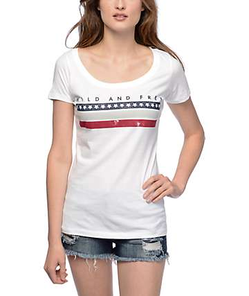Empyre Wild And Free Scoop Neck T-Shirt