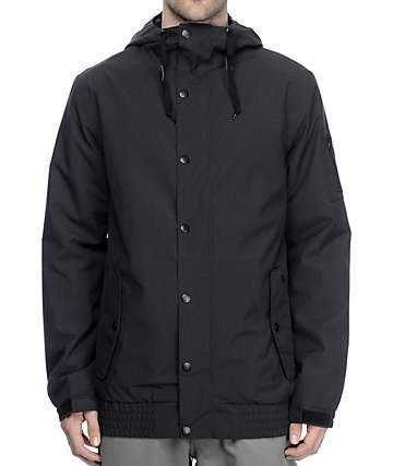 Empyre Yard Sale 10K Black Snowboard Jacket