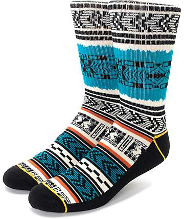 Empyre Young Tribal Striped Crew Socks