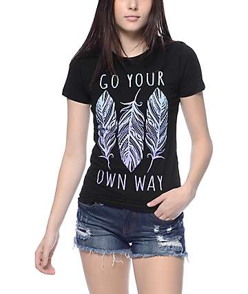 Empyre Your Own Way Black T-Shirt