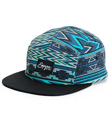 Empyre Ziggy Tribal 5 Panel Hat