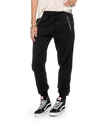 Empyre Zipper Banded Jogger Pants