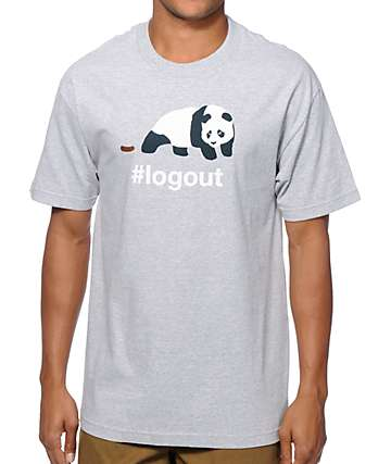 Enjoi #Logout T-Shirt