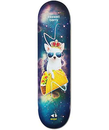 "Enjoi Berry Snack Surfers Impact 8.0"" Skateboard Deck"