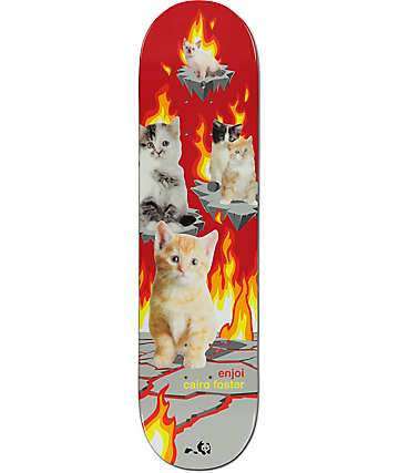 "Enjoi Cairo Foster Kitten Nightmares 8.0"" Skateboard Deck"