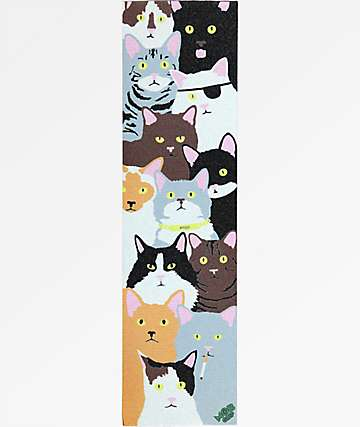 Enjoi Cat Collage Grip Tape