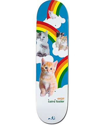 "Enjoi Foster Kitten Dreams 8.125"" Skateboard Deck"