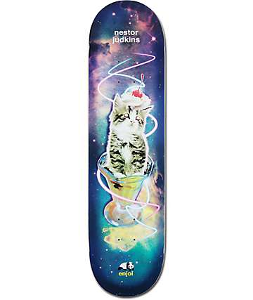 "Enjoi Judkins Snack Surfer 8.125""  Skateboard Deck"