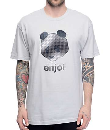 Enjoi Line Silver T-Shirt