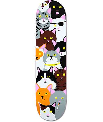 "Enjoi Raemers Cat Collage 8.0"" Skateboard Deck"