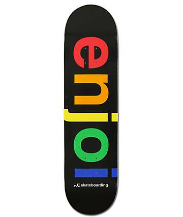 "Enjoi Spectrum Logo 8.0""  Team Deck Skateboard Deck"