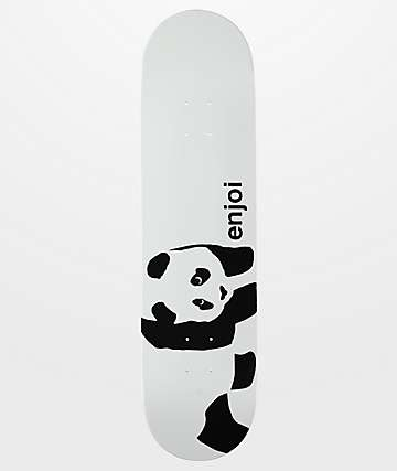 "Enjoi Whitey Panda Wide Logo 8.0""  Skateboard Deck"