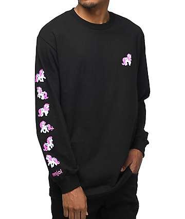 Enjoi X My Little Pony camiseta negra de manga larga
