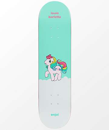 "Enjoi x My Little Pony Barletta 8.0"" Skateboard Deck"
