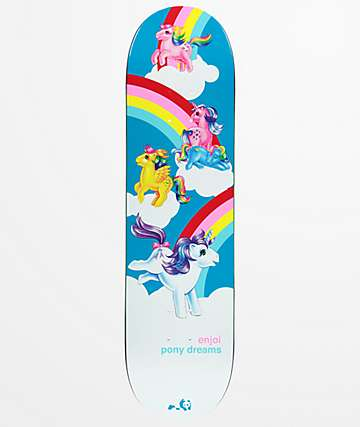 "Enjoi x My Little Pony Dreams 8.25"" Skateboard Deck"