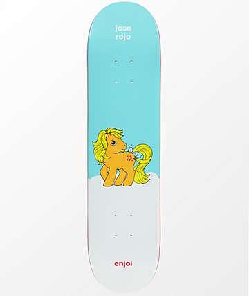 "Enjoi x My Little Pony Rojo 7.75"" tabla de skate"