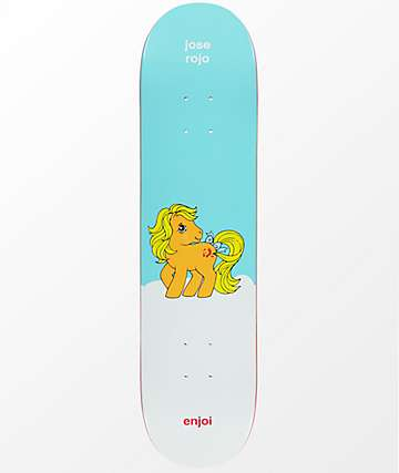 "Enjoi x My Little Pony Rojo 7.75"" Skateboard Deck"