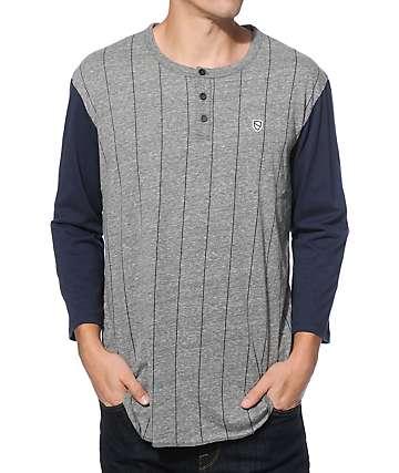 Eswic Thumper Stripe Henley Shirt