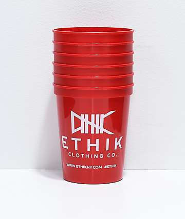 Ethik 6-Pack Red Cups