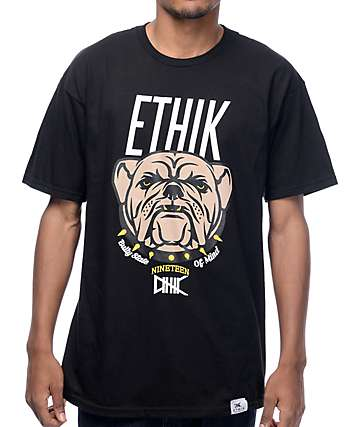 Ethik Bullies Black T-Shirt