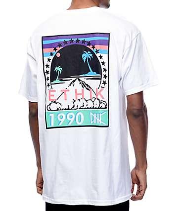 Ethik Paradise White T-Shirt