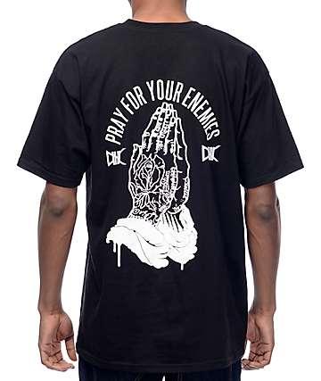 Ethik Pray For Your Enemies camiseta negra