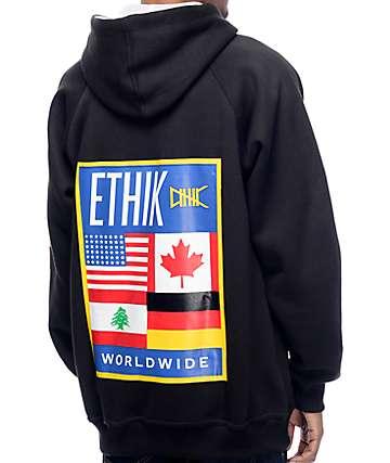 Ethik Worldwide Black Hoodie