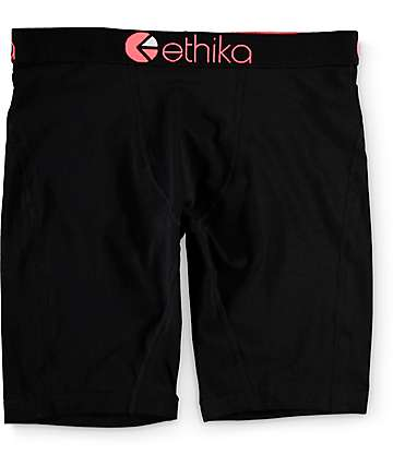 Ethika Black Seal Boxer Briefs