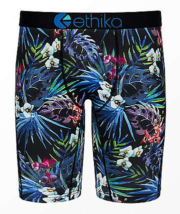 Ethika Boys Botanical Boxer Briefs