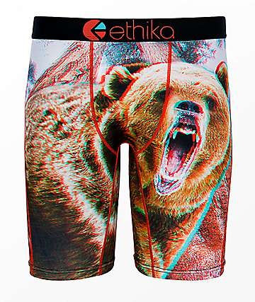 Ethika Boys Momma 3D Boxer Briefs