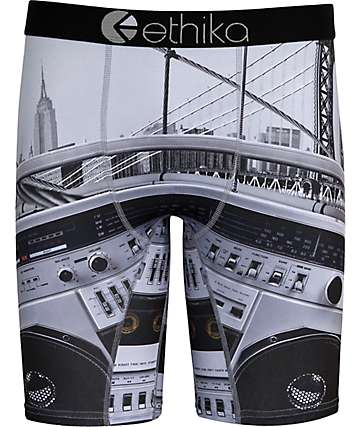 Ethika Brooklyn Projects Grey Boxer Briefs