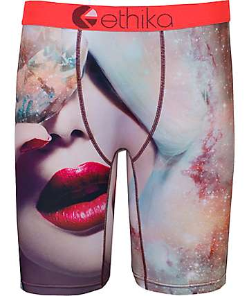 Ethika Diamond Lips Boxer Brief