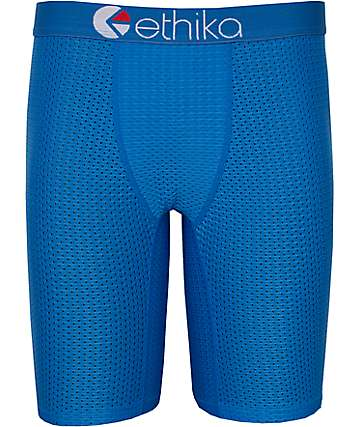 Ethika Flow Performance Blue Boxer Briefs