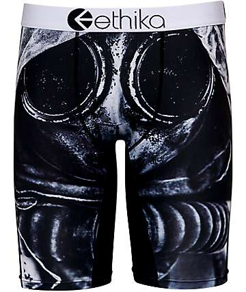 Ethika Gas Mask Black Boxer Brief