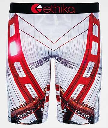 Ethika Golden Gate calzoncillos bóxer en gris